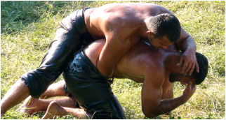 Man-on-Man contact - Turkish style, in Power Erotic.